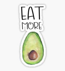 Eat more avocados Sticker