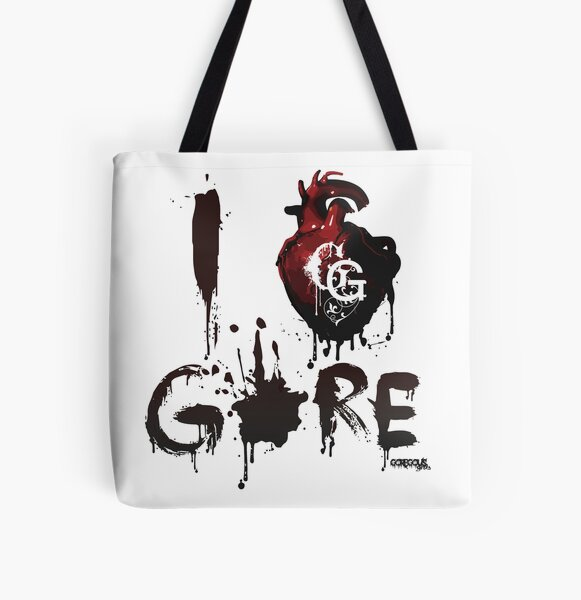 I <3 GORE All Over Print Tote Bag