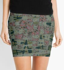 The Abyss Of Abstract Dreams Mini Skirt