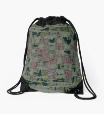 The Abyss Of Abstract Dreams Drawstring Bag