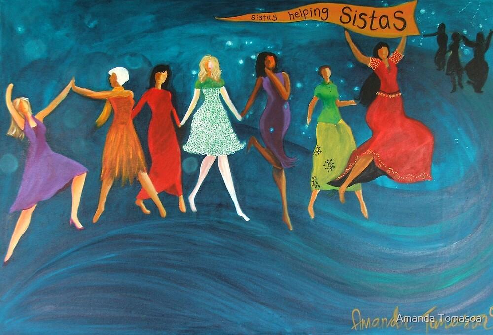 Sistas helping Sistas by Amanda Tomasoa