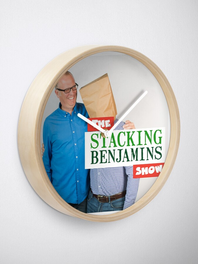 Alternate view of Stacking Benjamins Clock