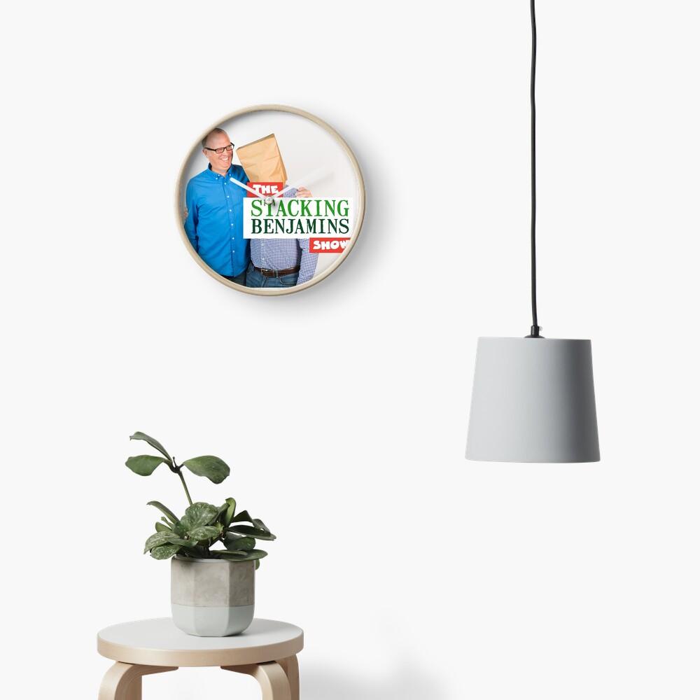 Stacking Benjamins Clock