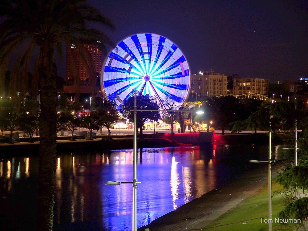 Ferris Wheel  by the Yarra  by Tom Newman