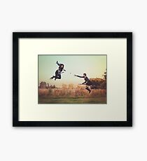 Afternoon Quidditch Practice Framed Print