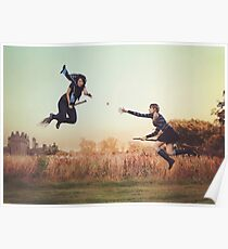 Afternoon Quidditch Practice Poster