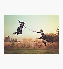Afternoon Quidditch Practice Photographic Print
