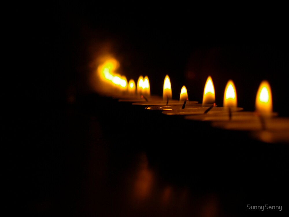 Candles will light your way.... by SunnySanny