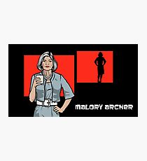 Malory Archer Photographic Print