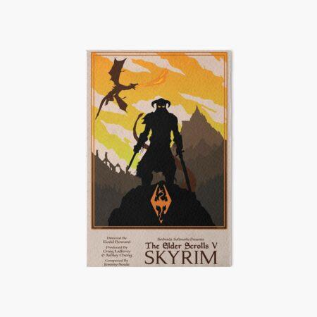 Dovahkiin, Dragonborn Art Board Print