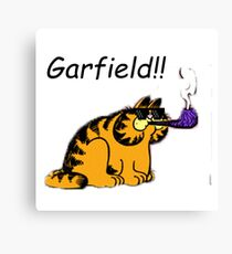 GARFIELD!!!!! Canvas Print