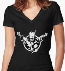 Thunderdome Women's Fitted V-Neck T-Shirt