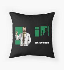 Dr Krieger, Archer Throw Pillow