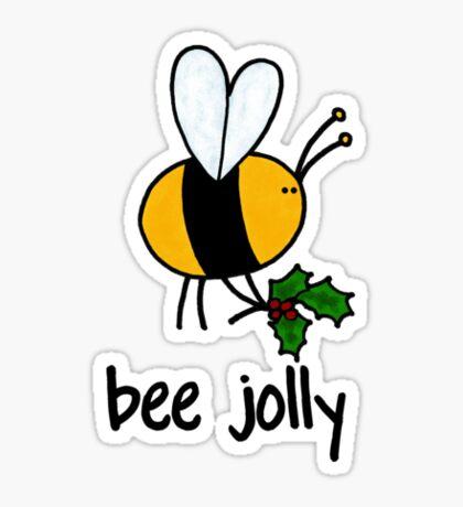 Bee Jolly Sticker