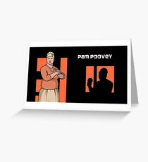 Pam Poovey, Archer Greeting Card