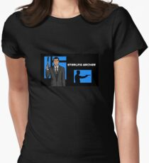 Sterling Archer Women's Fitted T-Shirt