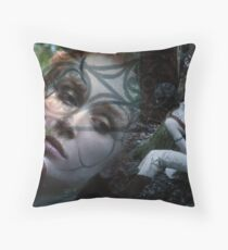 Woad 5 Throw Pillow