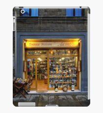 Tuscany Wine shop iPad Case/Skin