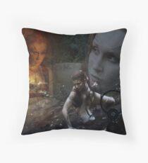 Woad 6 Throw Pillow