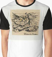 angora cat Graphic T-Shirt