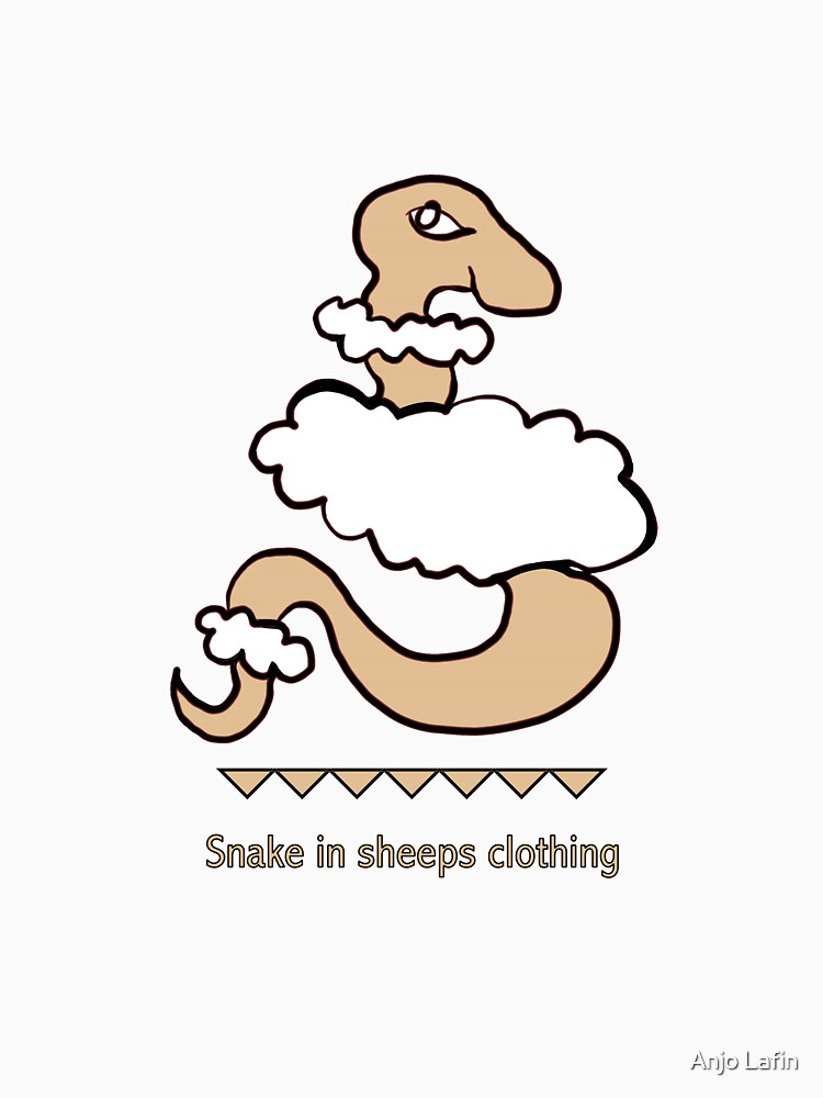 Snake in sheeps clothing by talisbird