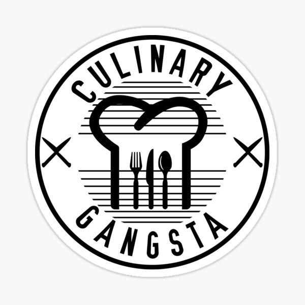Culinary Gangsta Sticker