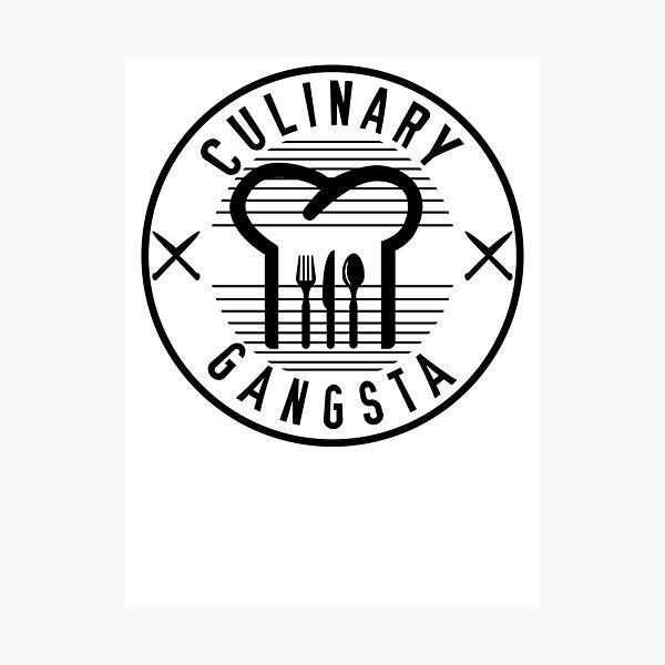 Culinary Gangsta Photographic Print
