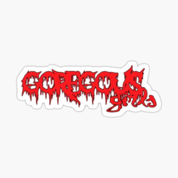 GOREgous Girls logo Sticker