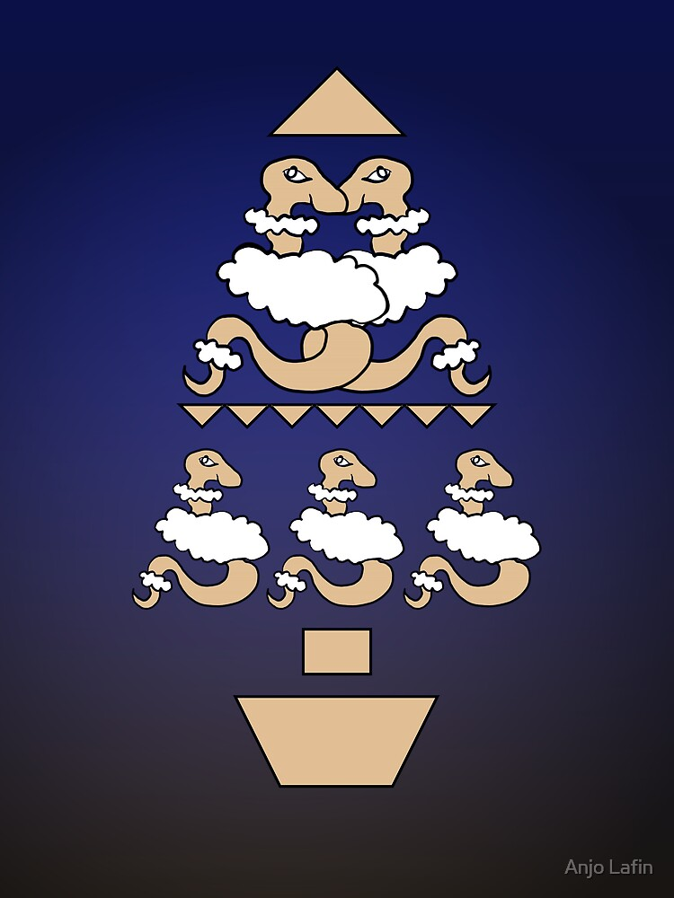 Snakes in sheeps clothing tree by Anjo Lafin