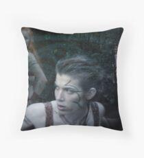 Woad 12 Throw Pillow