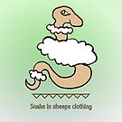 Snake in sheeps clothing by Anjo Lafin