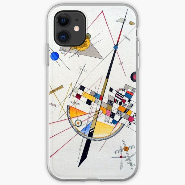 Wassily Kandinsky Delicate Tension iPhone Soft Case