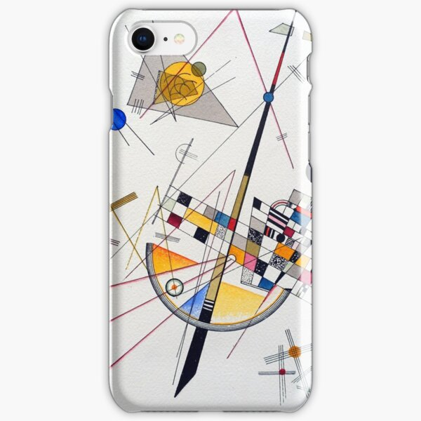Wassily Kandinsky Delicate Tension iPhone Snap Case