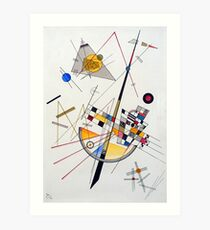 Wassily Kandinsky Delicate Tension Art Print
