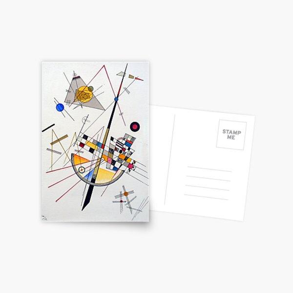 Wassily Kandinsky Tension délicate Carte postale