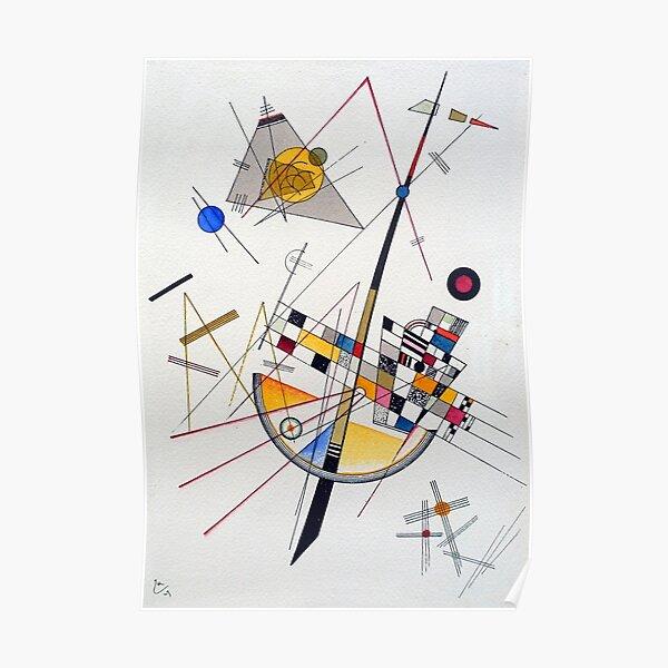 Wassily Kandinsky Tension délicate Poster