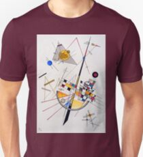 Wassily Kandinsky Delicate Tension Unisex T-Shirt