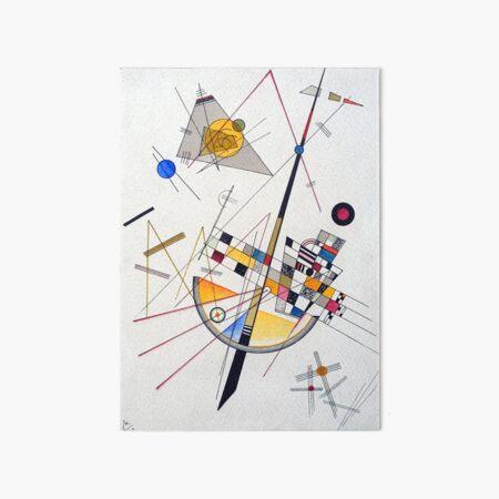 Wassily Kandinsky Delicate Tension Art Board Print