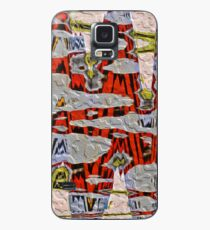 Tiger Stripe Abstract Artwork Case/Skin for Samsung Galaxy