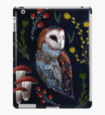 Owl Topiary iPad Case/Skin