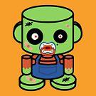 El Duende O'BABYBOT Toy Robot 1.0 by Carbon-Fibre Media