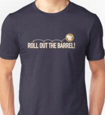 Roll out the Barrel! Wis-Kid Unisex T-Shirt