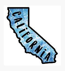 California Silhouette Photographic Print