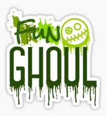 Fun Ghoul Paint Splatter Sticker