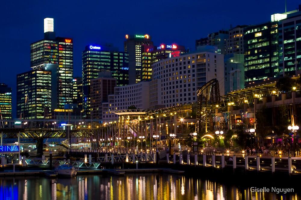 Darling Harbour, Sydney by Giselle Nguyen