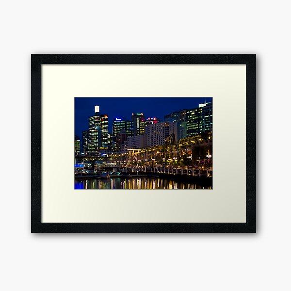 Darling Harbour, Sydney Framed Art Print