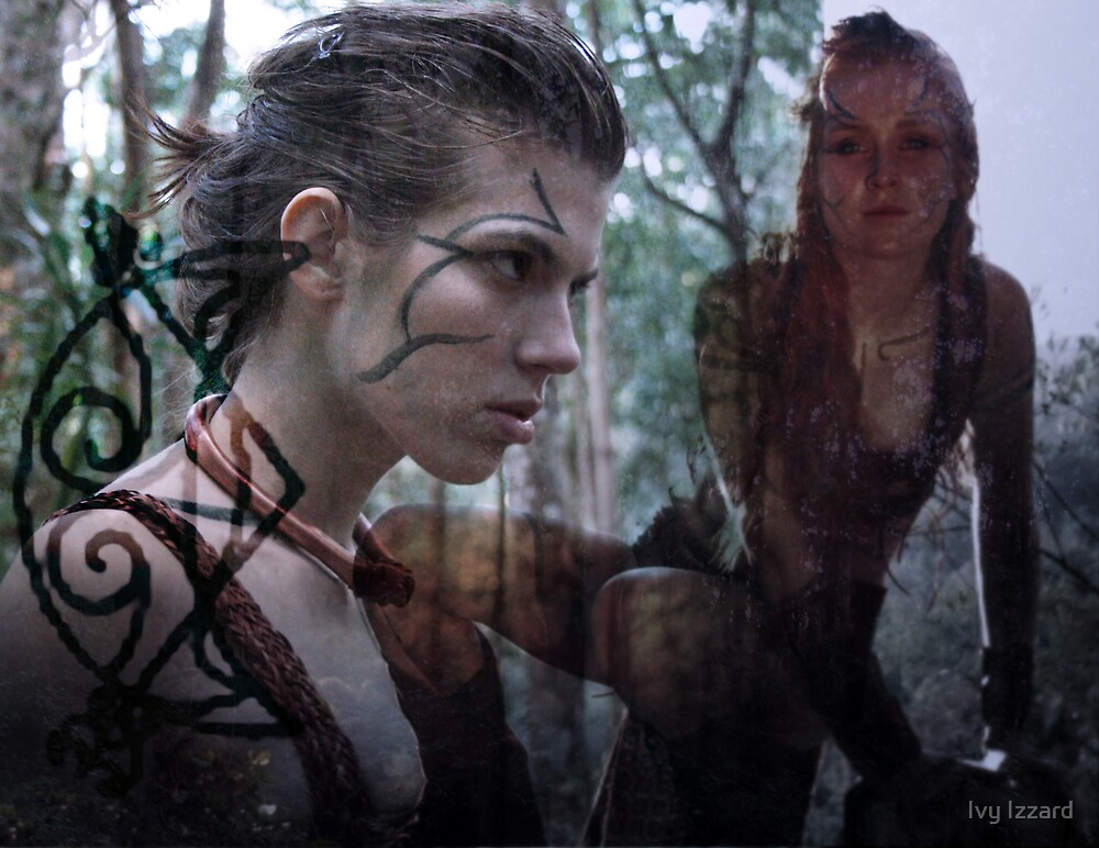 Woad 8 by Ivy Izzard