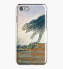 Francisco Goya - Fighting Cats - Rina De Gatos iPhone Case/Skin