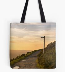 Bend in the path LS Tote Bag