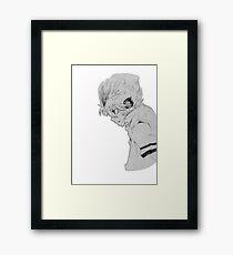Tsunayoshi Sawada-Pencil on paper  Framed Print